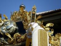 『木曽町』屋台~高砂神社~