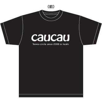 caucauテニスサークルTシャツ