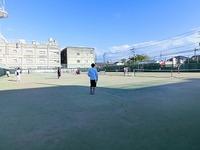 朝日テニススクールさんと交流会2012