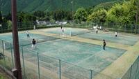 姫路安富町てにすぶテニスサークルとの山崎一宮での対抗戦