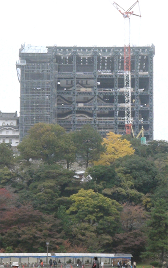 姫路城平成の大改修
