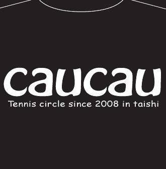 オリジナルcaucauカウカウテニスサークルTシャツデザイン案兵庫県姫路