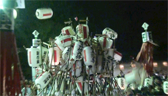 魚吹八幡神社秋祭り2011(網干祭り/ちょうちん祭り)