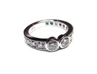 結婚10周年のダイヤモンドの指輪を作りました。