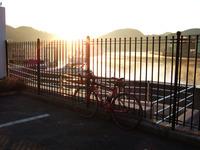 今朝は高取峠を越えて赤穂へ