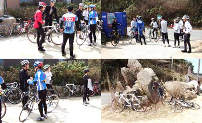 自転車で六甲山登頂!