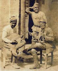 3人の楽師