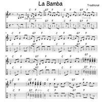 La Bamba タブ譜