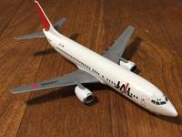 JAL 737 1/144 プラモデル