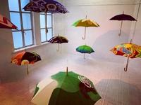 似合う傘。日よけ厄よけ傘展@京都