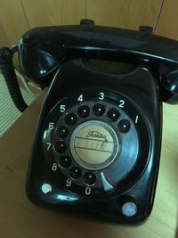 しゃべる電話。