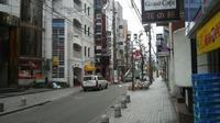 姫路の歓楽街 魚町の昼間