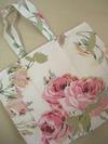 ローラアシュレイ 花柄トートバッグ