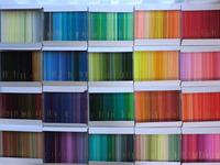 500色を子どものアトリエで
