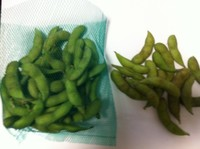 枝豆の色。