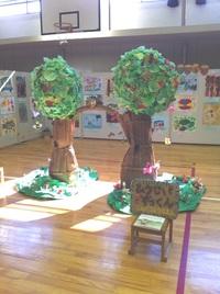 たつの市立幼稚園合同絵画展