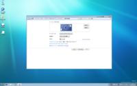 NT9000proにWindows7インストール完了