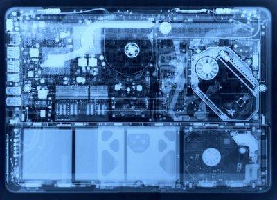 Macbook X線画像