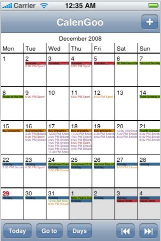 "Googleカレンダー連携アプリ ""CarenGoo"""