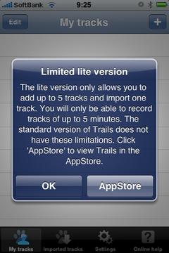 [iPhone]GPSトラッキングアプリで大物登場?