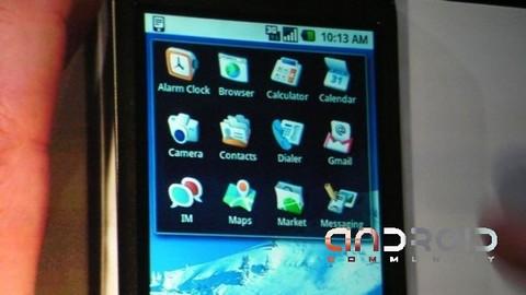 Android携帯最新ビルド