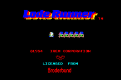 iPhoneでLode Runner(ぽいの)キタ!