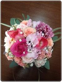 「HKハウス 北野Ⅱの家」 着工式のお花