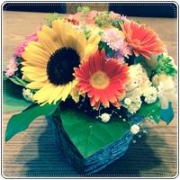 「HKハウス 住吉Ⅱの家」 着工式のお花