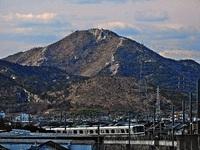 加古川の風景(JR神戸線:宝殿駅-加古川駅間:加古川橋梁付近)