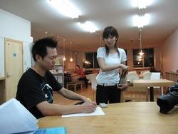 ドキュメンタリー試写会 と 取材