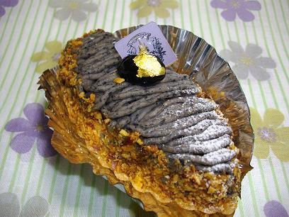 絶品★黒豆ケーキ!