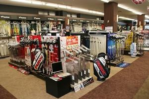 ゴルフ ギア サージ西神戸店は2階