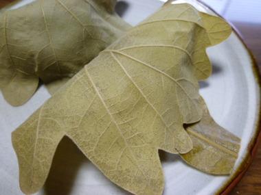 端午の節句の準備……柏餅は日本発祥。