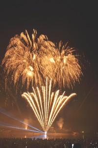 高砂市花火大会ナイトファンタジーイリュージョン