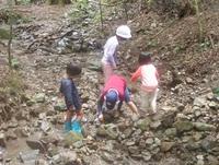 夏休み最後の川遊び