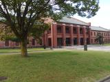 陸軍拠点の名残、姫路市立美術館
