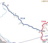 播磨と摂津の国境。経営が苦しい神戸電鉄粟生線