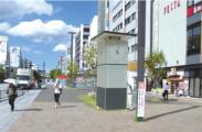 姫路駅北広場に大型時計、来月設置