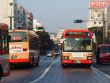 バスと自転車で観光