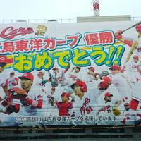 広島東洋カープが優勝してくれましたぁ♪ 2016/09/17 18:47:24
