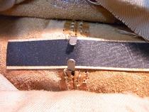 イタリア製鞄、根もも土台補強 その1