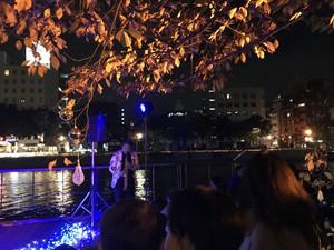 雁木クリスマス&水辺のジャズ2017の様子