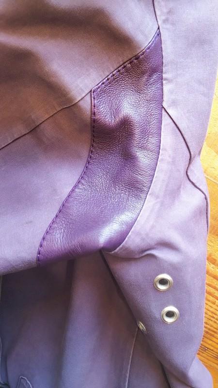 マッキントッシュのコートをアレンジ修理