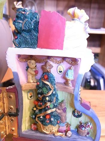 続、ひねりてのクリスマスディスプレー