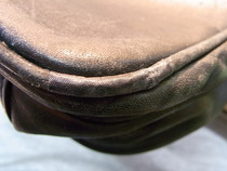 BREE紳士鞄 パイピング部分修理