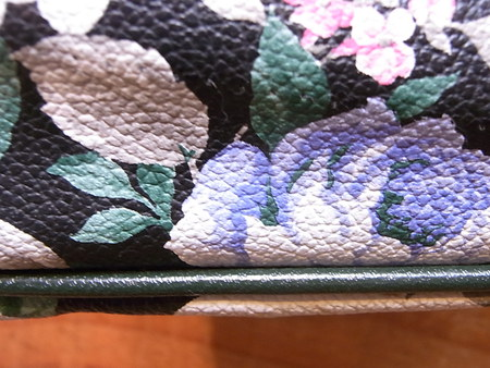 花柄ショルダーバックの再生修理 その2