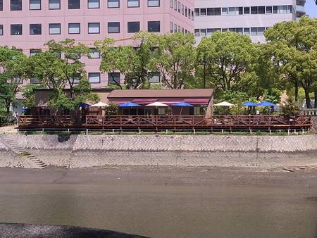 京橋川沿いの新しいお店 「ぴぃすぅあ」さん