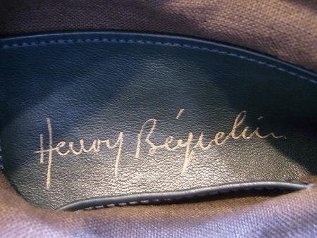 エンリーベグリン手提げかばんの手縫い修理