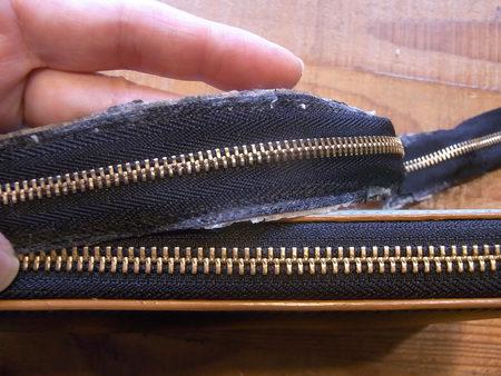 MARNI長財布のファスナー交換