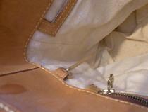 ルイヴィトン、バケットGMの内張りとテーピングを交換